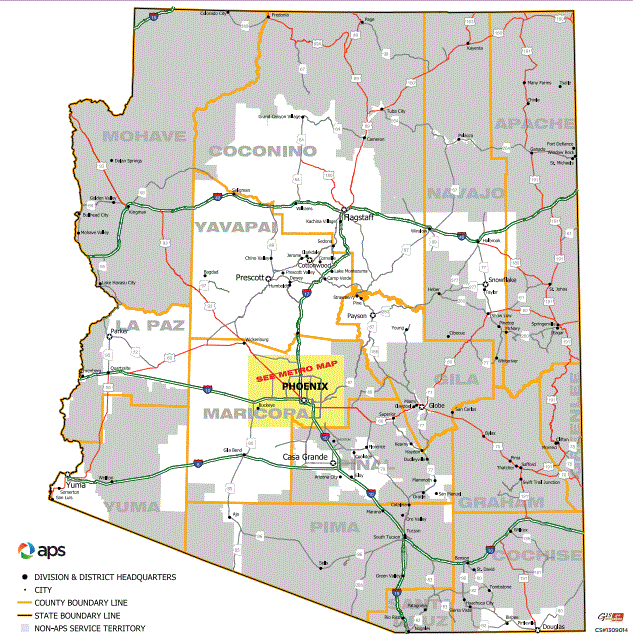 utilities arizona public service