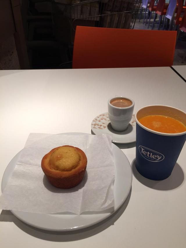 Corte Ingles breakfast